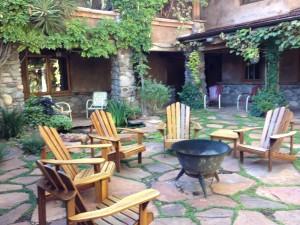 Around the Fire Pit at El Portal Sedona Hotel